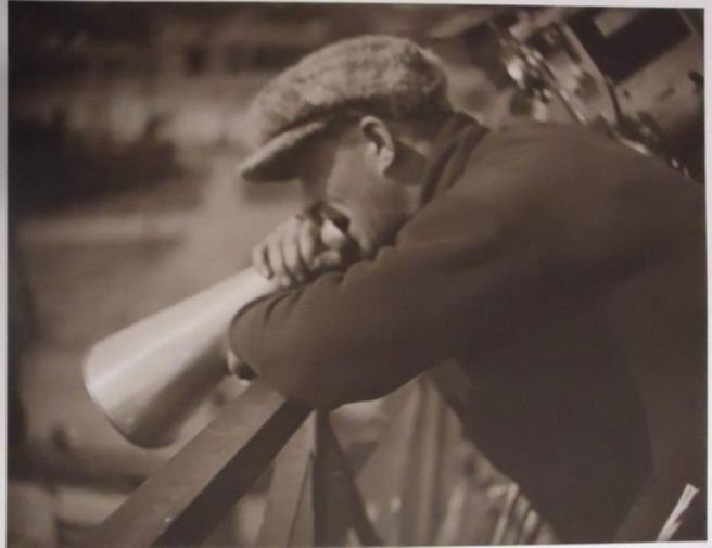 rodchenko-barnet on set of Moscow in October 1927